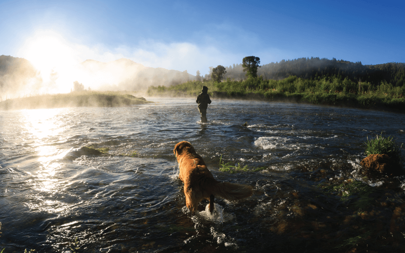 Fishing on Payette River